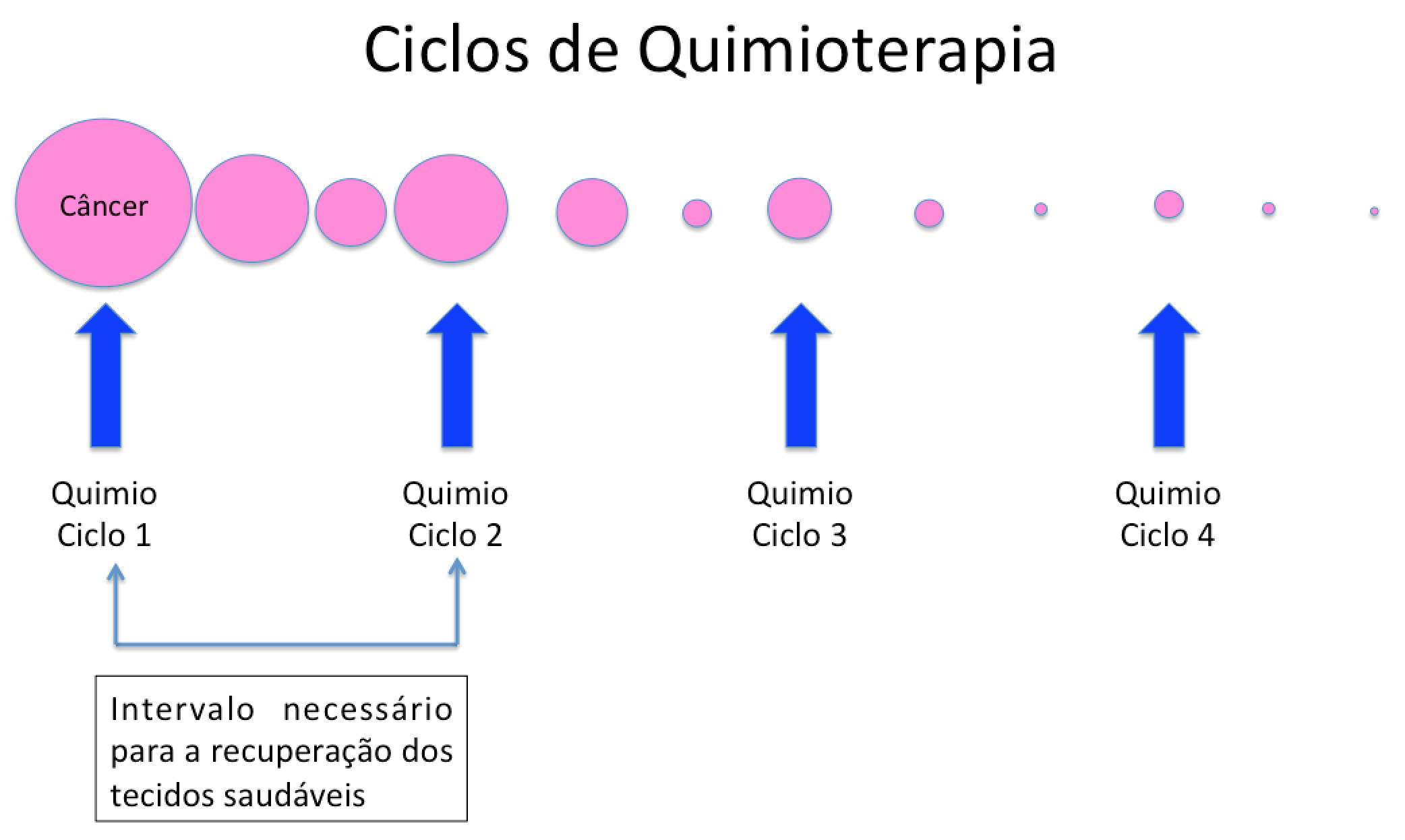ciclos da quimioterapia